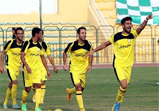 تساوی فجر سپاسی و نود ارومیه در دیدار معوقه لیگ دسته اول