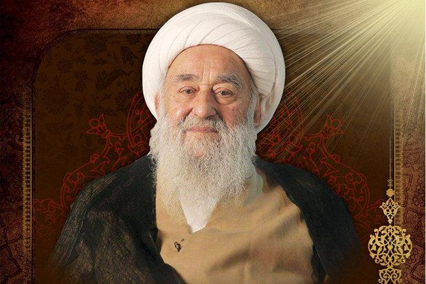 تہران میں آیت اللہ شاء آبادی کی تشییع جنازہ
