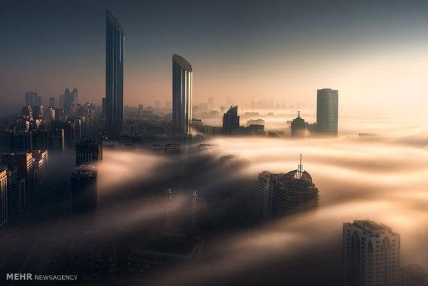 ابوظبی در میان ابرها