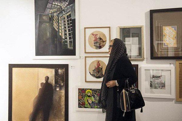 سومین بازار هنر در ۳ نقطه کشور افتتاح شد/ نمایش ۳ هزار و ۲۰۰ اثر