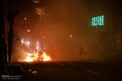۸ فقره آتشسوزی و ۱۶ مصدوم در چهارشنبهسوری در دزفول