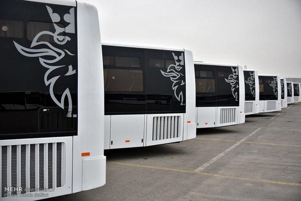 ۸ دستگاه اتوبوس جدید وارد ناوگان حمل و نقل عمومی شهر ارومیه شد