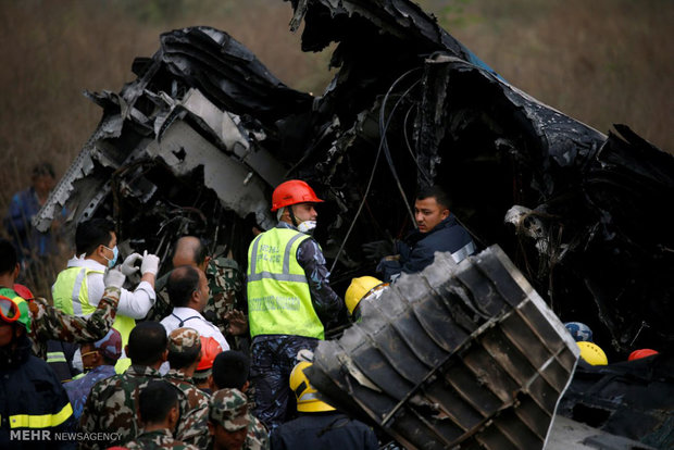 سقوط هواپیما در نپال