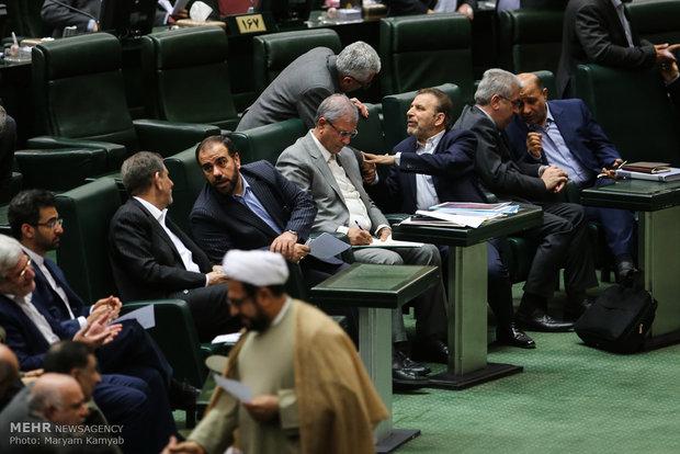 Meclis'in bakanlara yönelik gensoru oturumundan kareler