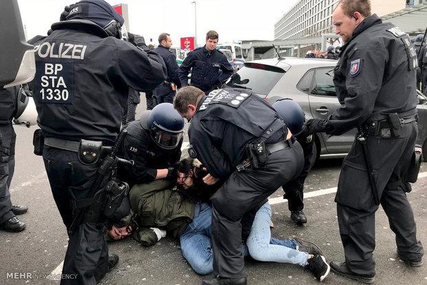 تظاهرات کردها در آلمان