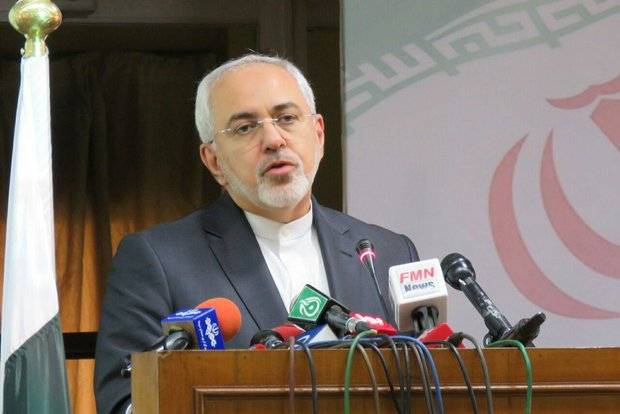 Zarif condemns US arms torrent to ME