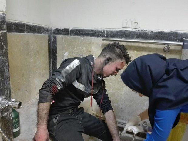 ۶۵ مصدوم در بیمارستان امام خمینی (ره) کرمانشاه پذیرش شدند