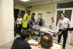 ۳۰۷ مصدوم چهارشنبه آخر سال در آذربایجانشرقی