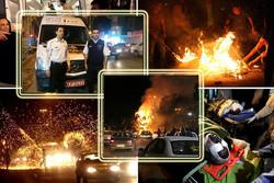 ۱۶۸ کرمانشاهی قربانی چهارشنبه سوری شدند/رویاهایی که در آتش سوخت