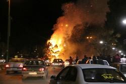 ارتفاع عدد ضحايا حريق مقهى الأهواز وإلقاء القبض على الفاعل