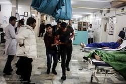 مصدومیت ۲۴ نفر در حوادث شب چهارشنبه آخر سال نیشابور
