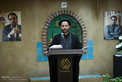 مراسم چهلمین روز درگذشت رضا مقدسی مدیر عامل سابق خبرگزاری مهر