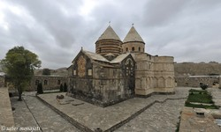 The Saint Thaddeus Monastery, a World Heritage in West Azarbaijan province
