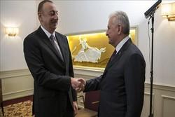 نخستوزیر ترکیه با رئیسجمهوری آذربایجان دیدار کرد