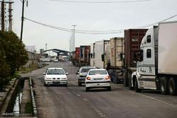 بندرعباس فعالترین مرز کشور در زمینه ترانزیت کالا در سال۹۶معرفی شد
