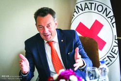 Peter Maurer, president of International Committee of the Red Cross (ICRC).