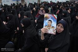 """تشييع جثامين 15 شهيد مجهول الهوية في """"شهريار"""" /صور"""