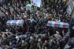 مراسم تشییع پیکرهای مطهر ۱۵ شهید گمنام در شهریار