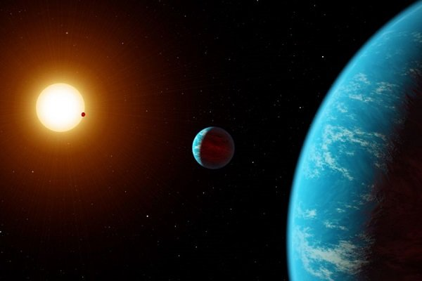 """""""ناسا"""" تنشر فيديو عن نظام الدوامات القطبية لكوكب المشتري"""