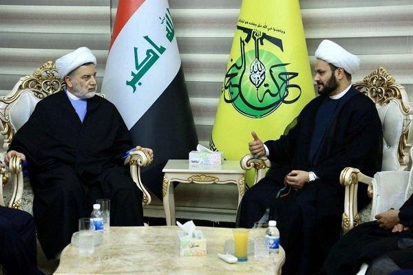 رایزنی «حمودی» با «الکعبی» درباره مسائل سیاسی ـ امنیتی عراق