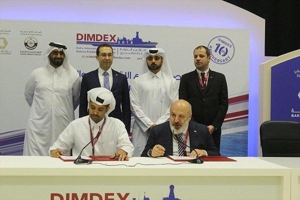 قطر اور ترکی نے بحری اڈہ بنانے کے معاہدے پر دستخط کردیئے