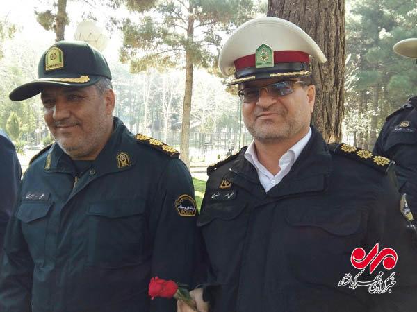 حضور بیش از ۱۰۰ تیم پلیس در تفرجگاههای استان کرمانشاه طی نوروز