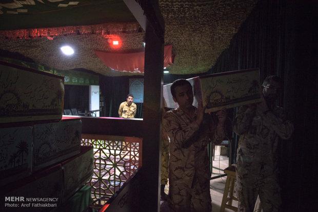 تشییع پانزده شهید گمنام در شهریار