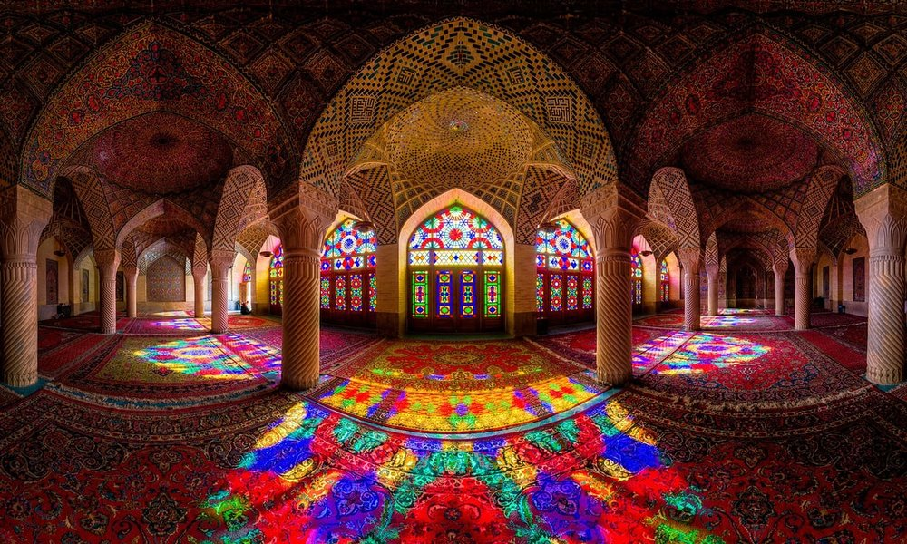 At Nasir al-Molk Mosque history meets arts