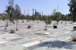 ۵۹۱ میت در آرامستان بهشت محمدی سنندج خاکسپاری شده اند
