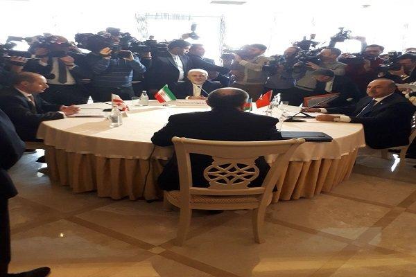 Iran, Georgia, Turkey, Azerbaijan Quadrilateral meeting kicks off in Baku