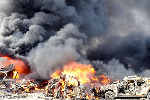انفجار عنيف في مدينة القامشلي شرقي سوريا