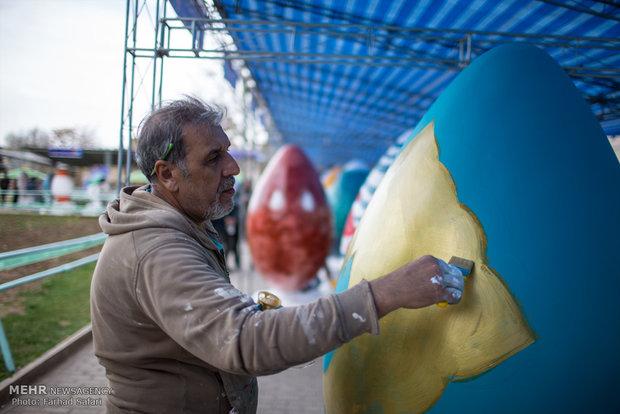 Nevruz Bayramı öncesi İran'dan coşkulu kareler