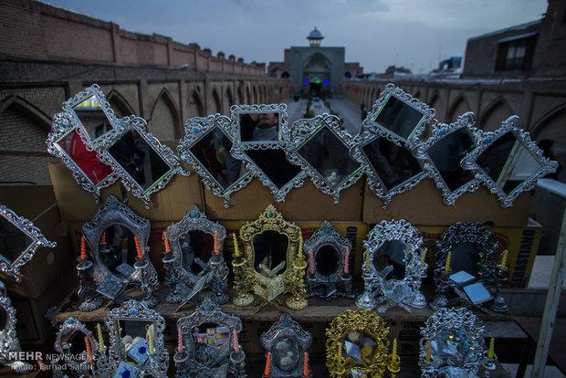 دستفروشان در معابر شهر قزوین