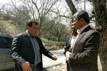 بازدید استاندار از پروژه ها و مناطق گردشگری شهر یاسوج