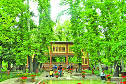 Mostoufi Al-mamalek, a Qajar-era garden in Northern Tehran