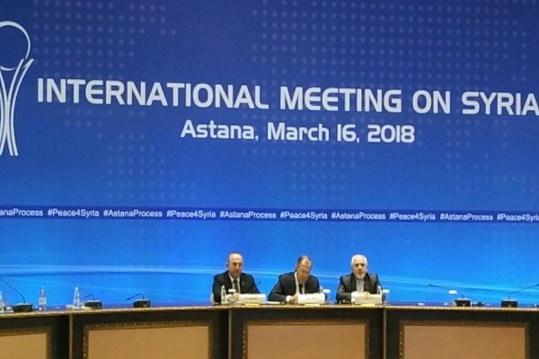 بیانیه پایانی وزیران خارجه ایران، روسیه و ترکیه در نشست امروز آستانه درباره سوریه