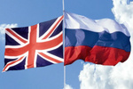 پرچم روسیه و انگلیس