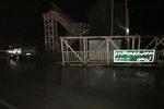 مصدومیت۱۷ نفر در سه حادثه رانندگی/ سقوط پل عابر پیاده