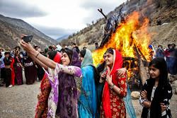 جشن نوروز در روستا ساتیاری