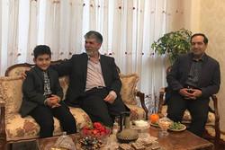 عباس صالحی در منزل مرحوم رضا مقدسی