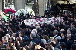 ترک جہاز کے حادثے میں ہلاک ہونے والوں کی تشییع جنازہ