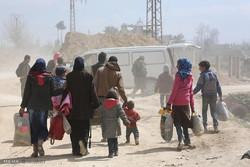 نزدیک به ۸۰ هزار غیرنظامی از غوطهشرقی خارج شدهاند