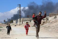وضعیت انسانی در غوطه شرقی