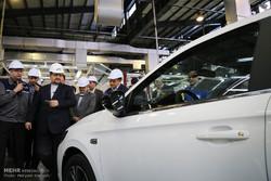 بازدید وزیر صنعت از خط تولید پژو ۳۰۱