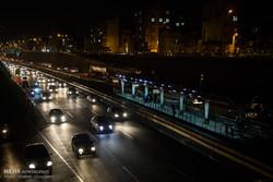 ترافیک عادی و روان در اطراف حرم امام و محورهای تهران