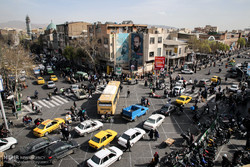 ترافیک تهران امنیتی شده/درخواست برنامه برای ساماندهی نیروی انسانی