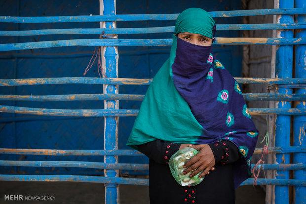 پناهجویان میانماری در بنگلادش