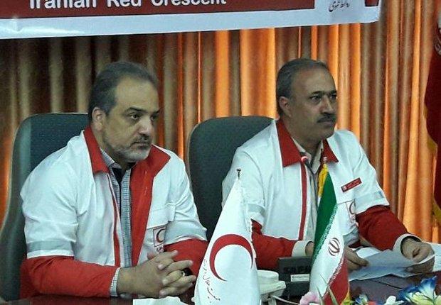 امداد رسانی نجاتگران هلال احمر استان اصفهان به ۱۲۹ حادثه دیده