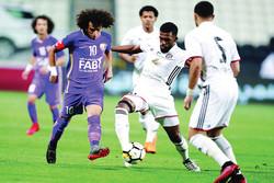 پیروزی العین مقابل حریف تراکتورسازی در لیگ امارات