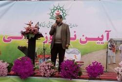 ۵۵ اِلمان شهری به مناسبت عید نوروز در شهر گرگان نصب می شود